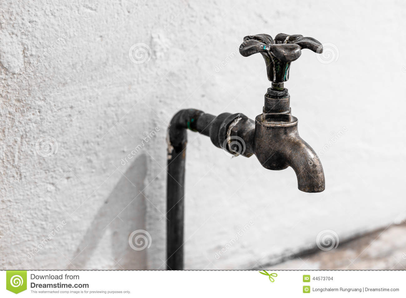 Old tap water stock photo. Image of metal, closeup, gold - 44573704