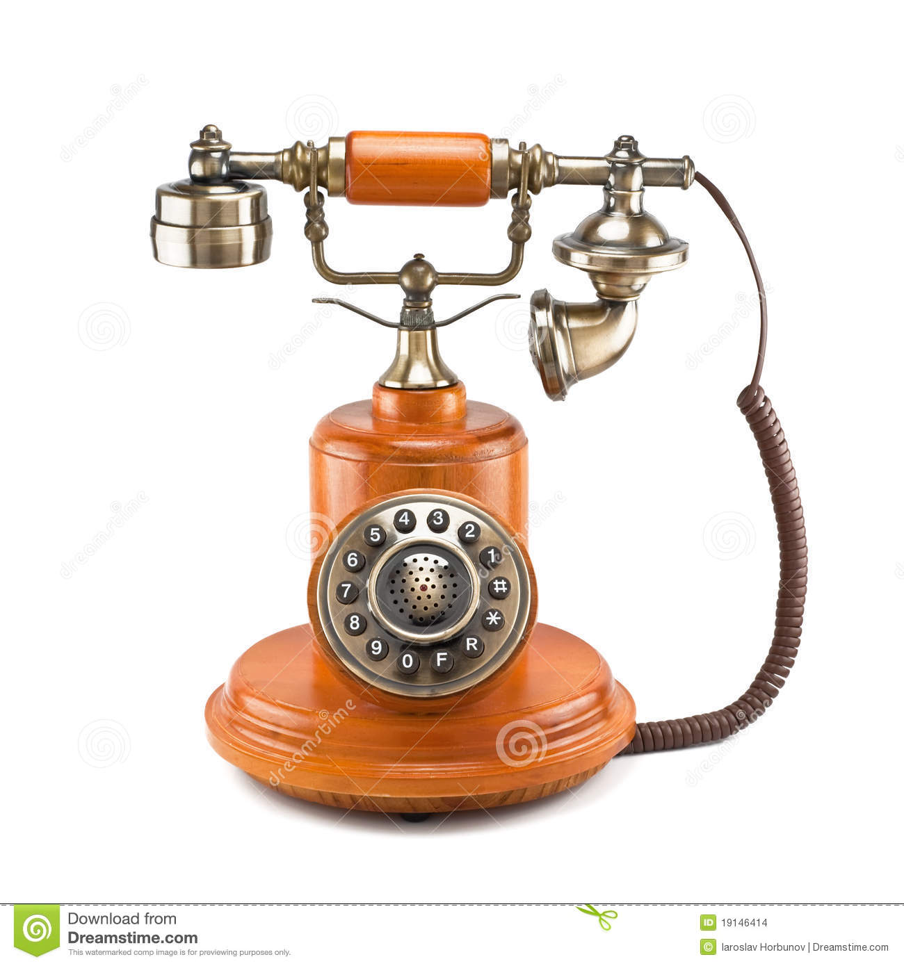 More similar stock images of ` Old telephone `