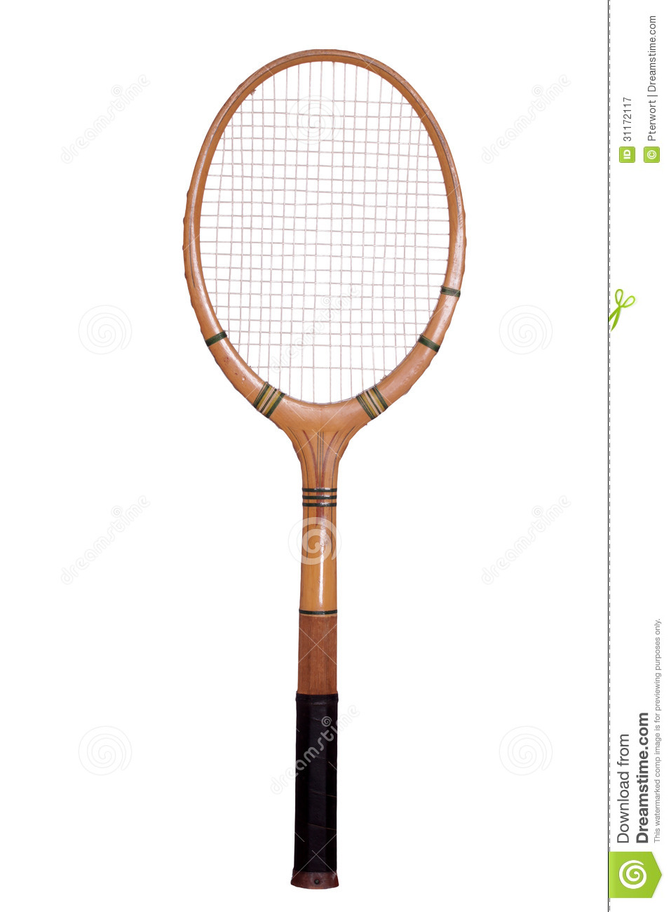 Old Tennis Racket Royalty Free Stock Photography - Image: 31172117