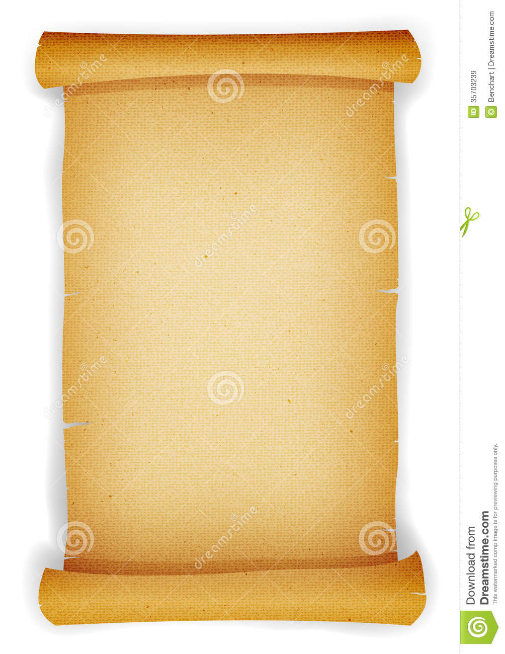 Old textured parchment scroll royalty free stock images for Pirate scroll template