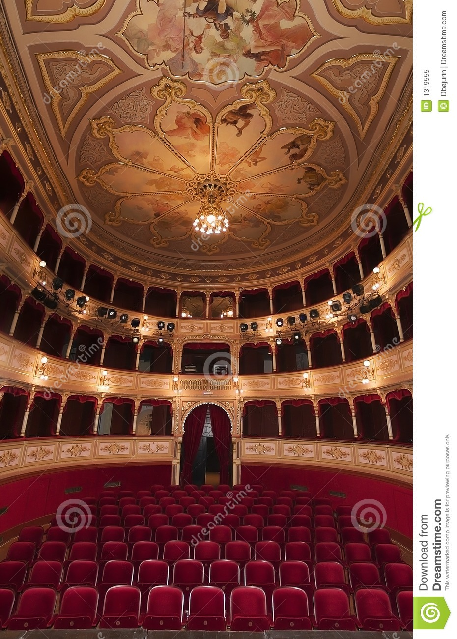 Old Theatre Venue Royalty Free Stock Photo Image 1319555
