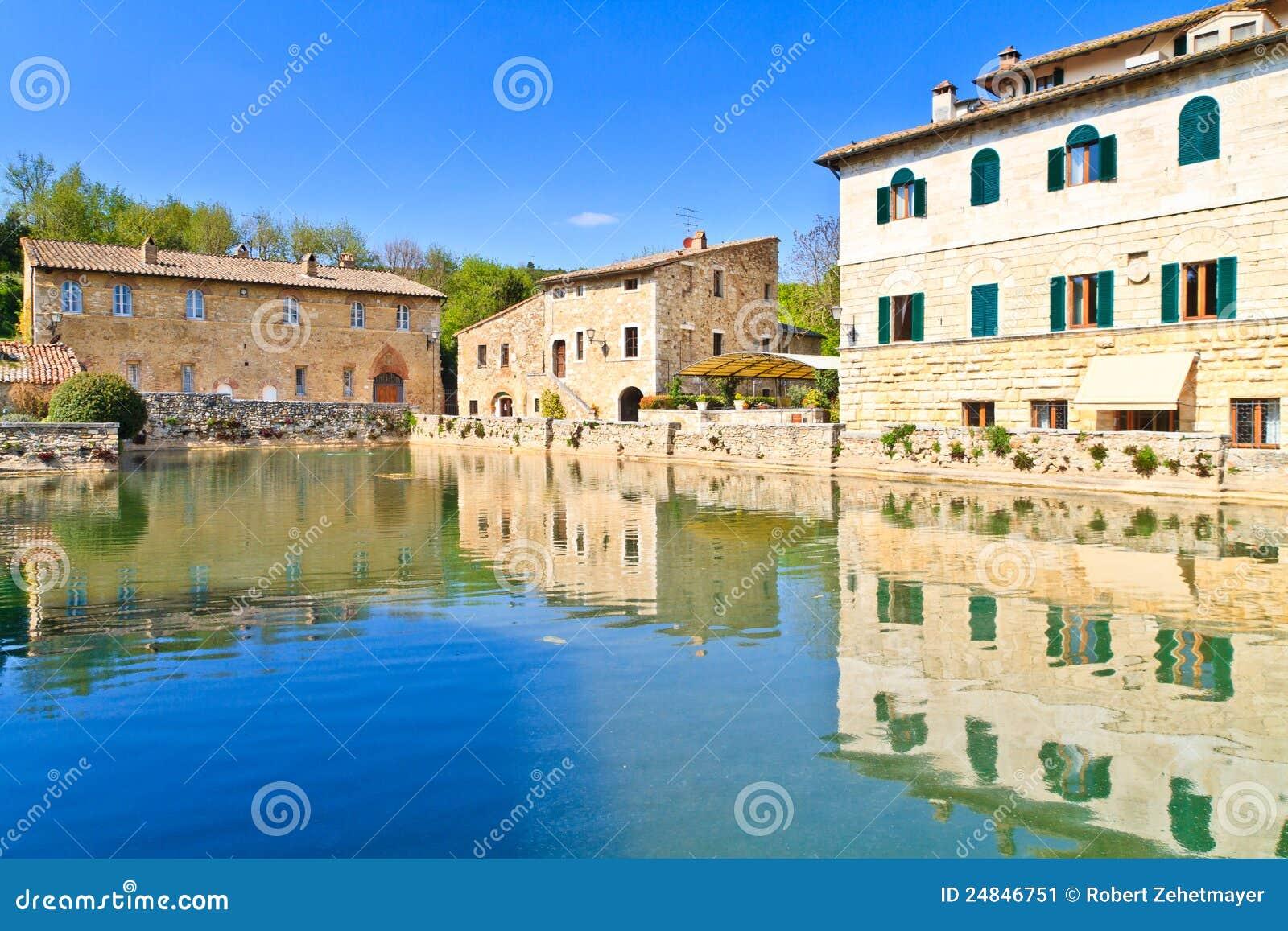 Old Thermal Baths In Bagno Vignoni Stock Image - Image: 24846751