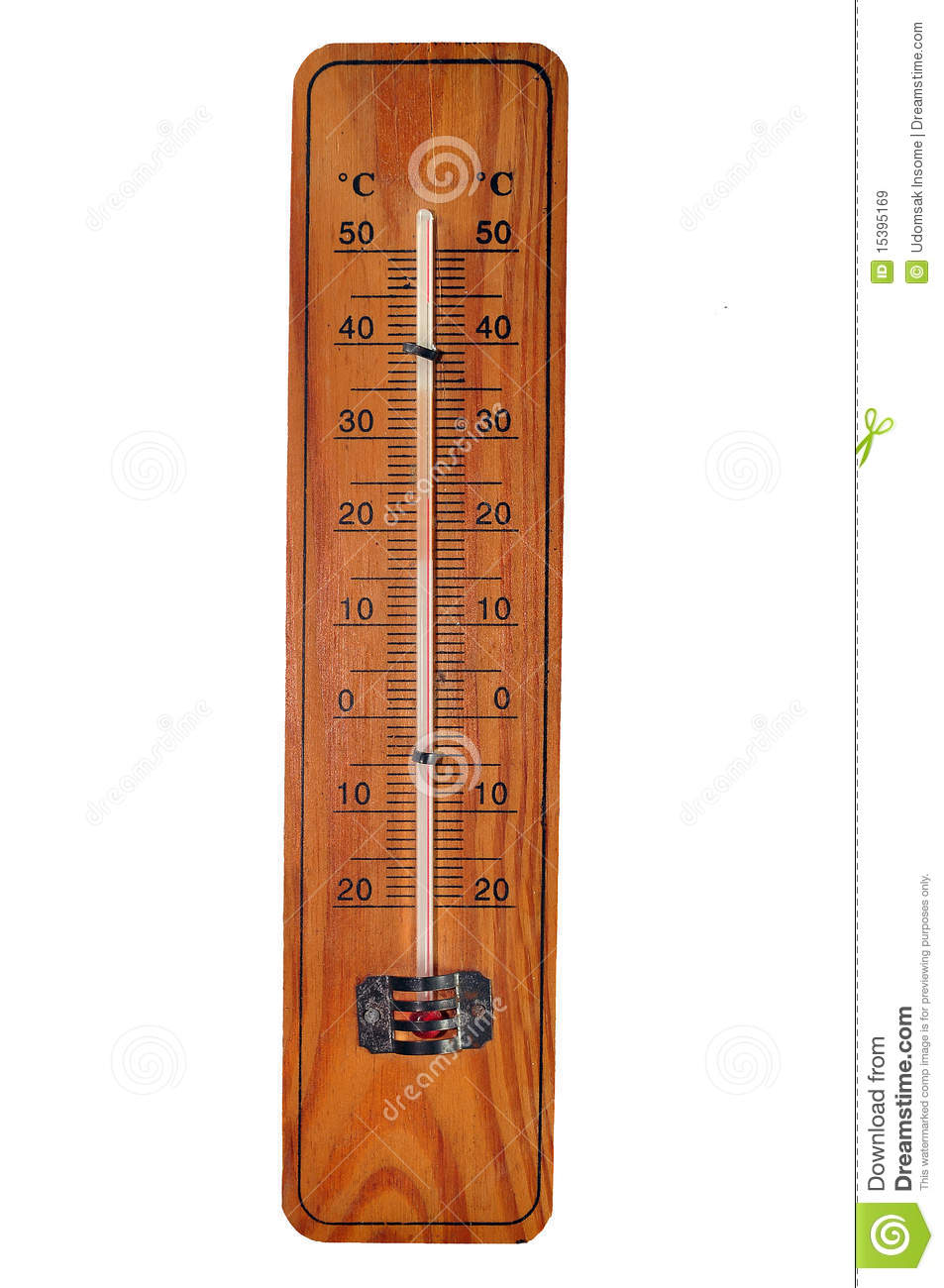 old thermometer royalty free stock images
