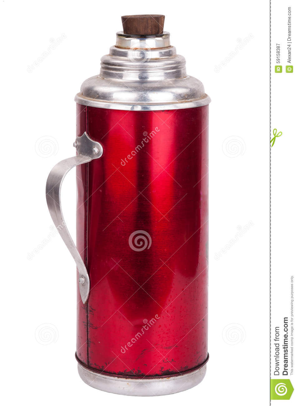 Thermos Container Icon, Camping And Hiking Equipment ...