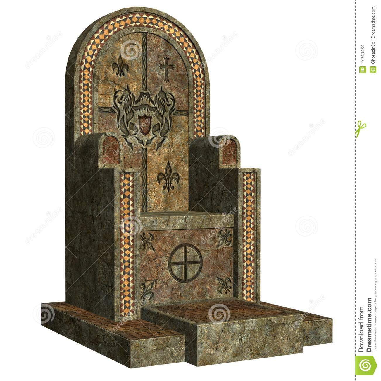 Old Throne Stock Images Image 17243464