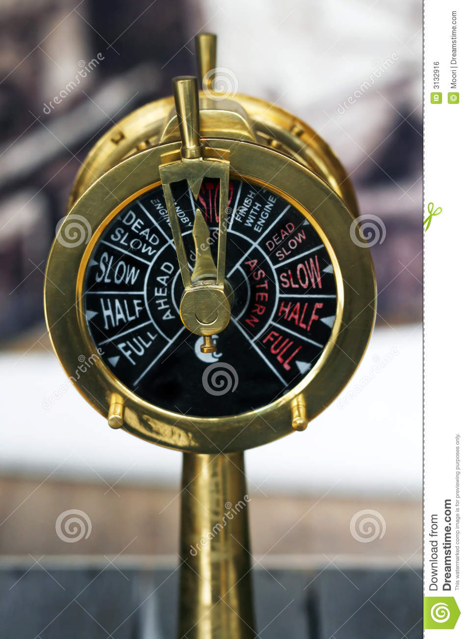 Old Throttle Royalty Free Stock Image - Image: 3132916