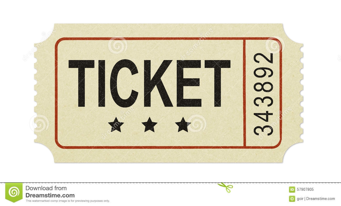 old ticket stock image  image of single  music  yellow