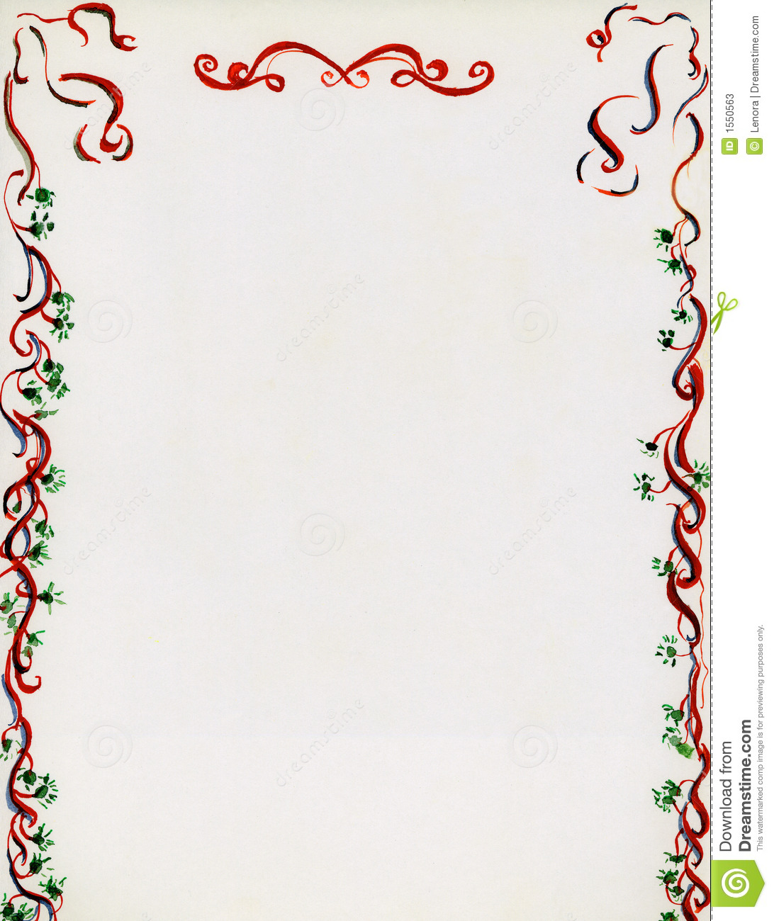 christmas stationery or background used for flyers invitations letters ...