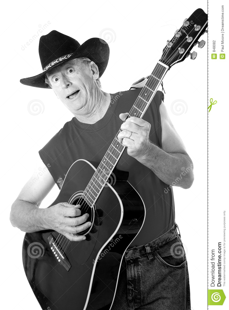 Old Time Country Musician 7