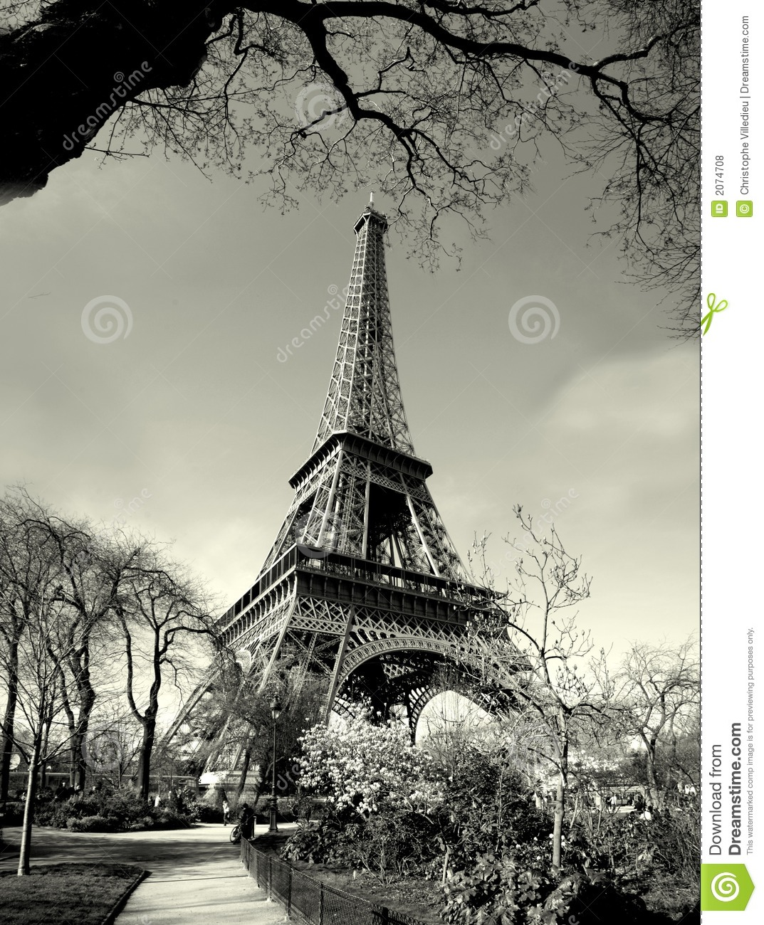 how old is eiffel tower