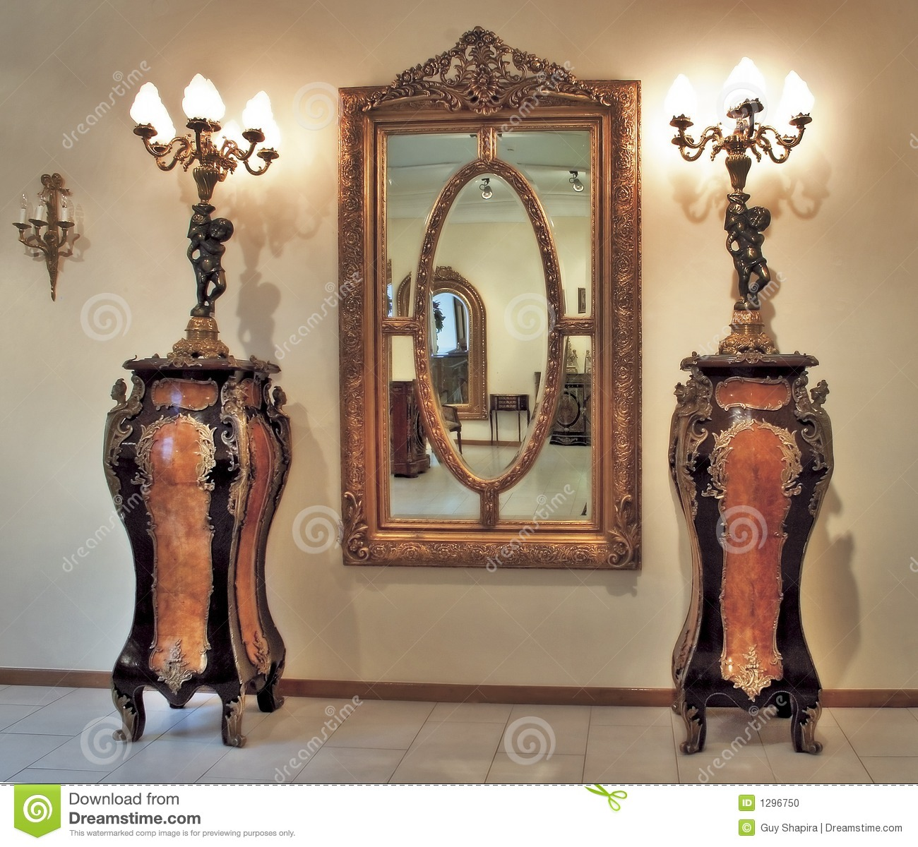 Old Time Furniture Stock Photo Image Of Ornate Antique