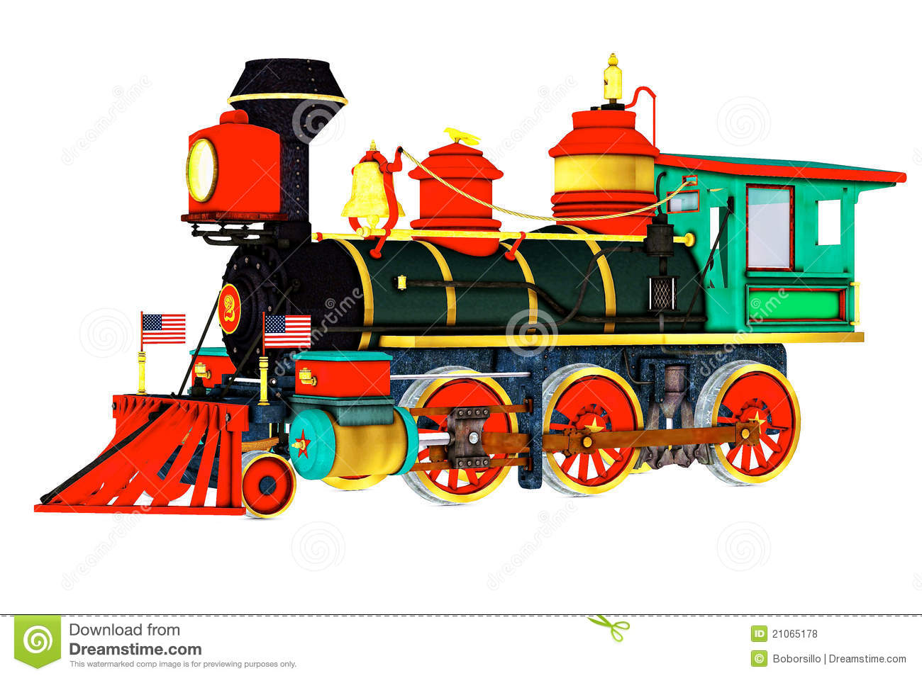 Old Time Steam Engine Train Royalty Free Stock Photos ...