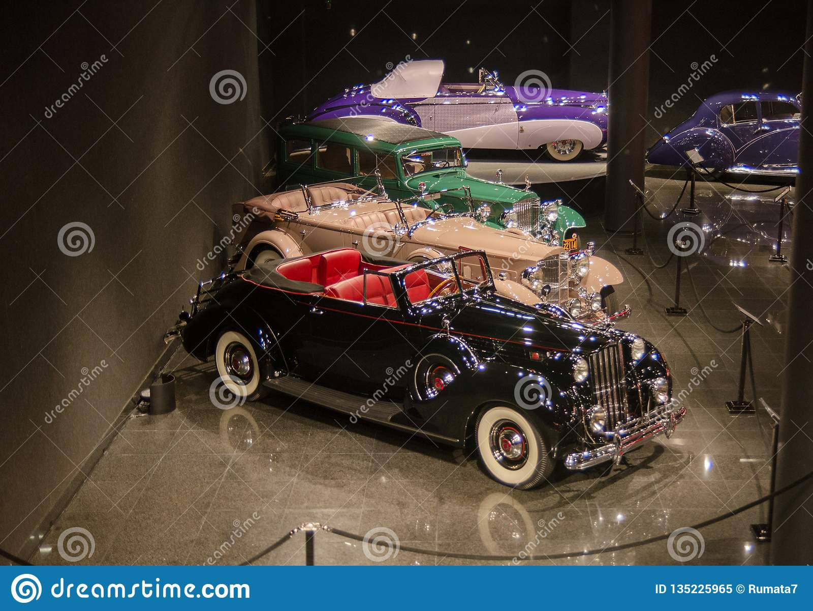 Blackhawk Car Museum >> Old Timer Cars Presented In Blackhawk Museum Ca Usa Editorial