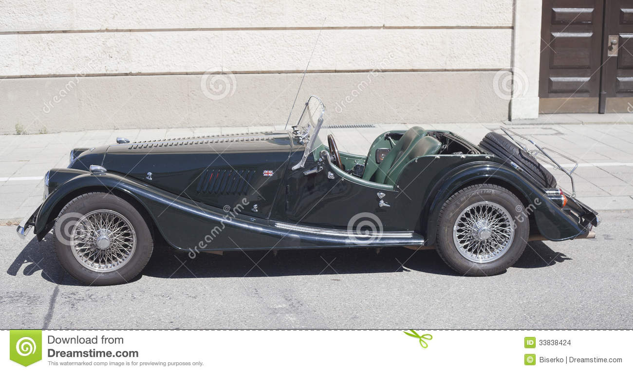 Old Timer Morgan Car Editorial Stock Image Image 33838424