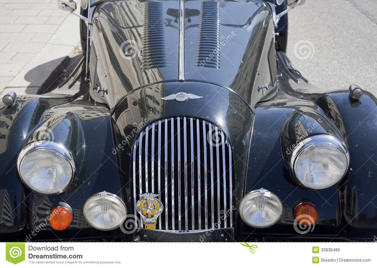 Old timer Morgan car editorial photo. Image of luxury - 33838486