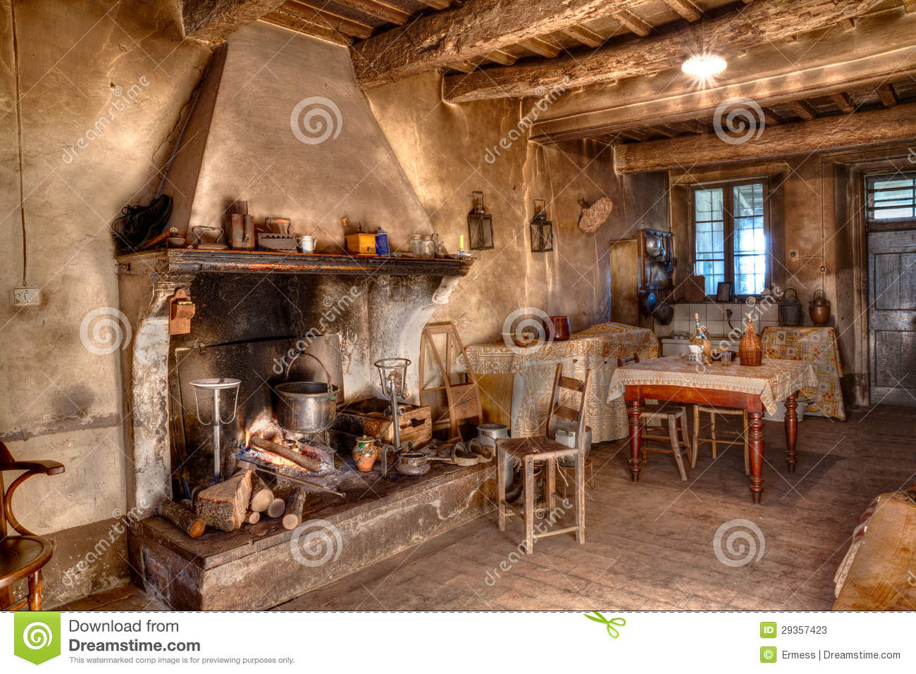 Old times farmhouse stock image. Image of antique ...