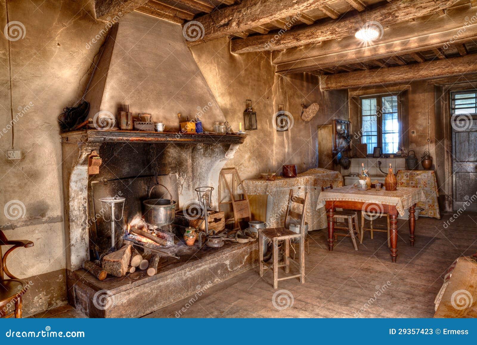 Old Times Farmhouse Stock Photos Image 29357423
