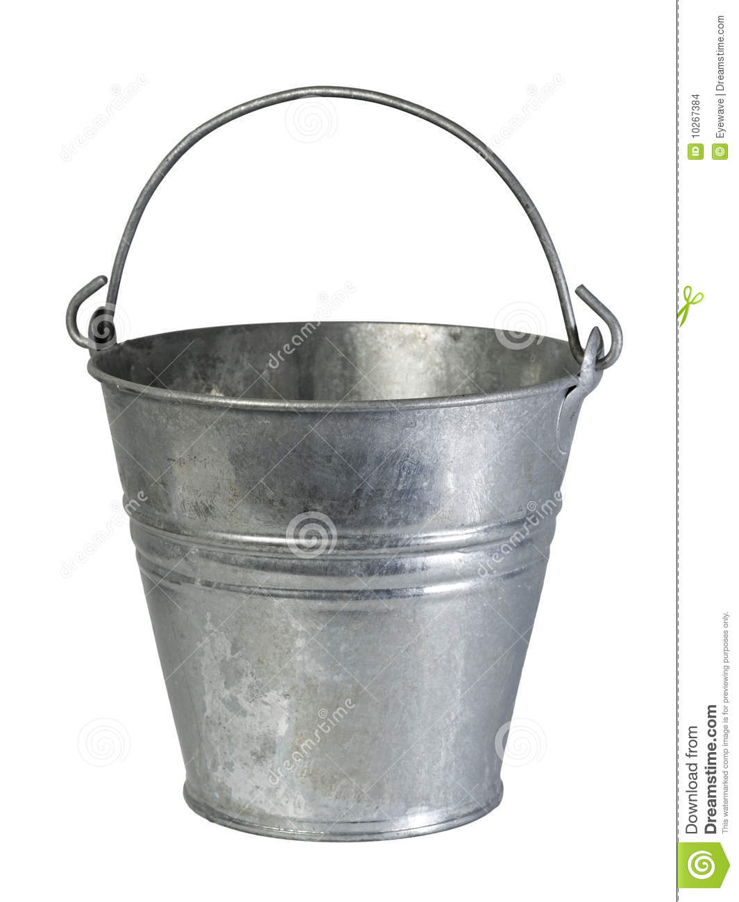 Old Tin Bucket Stock Images  Image: 10267384