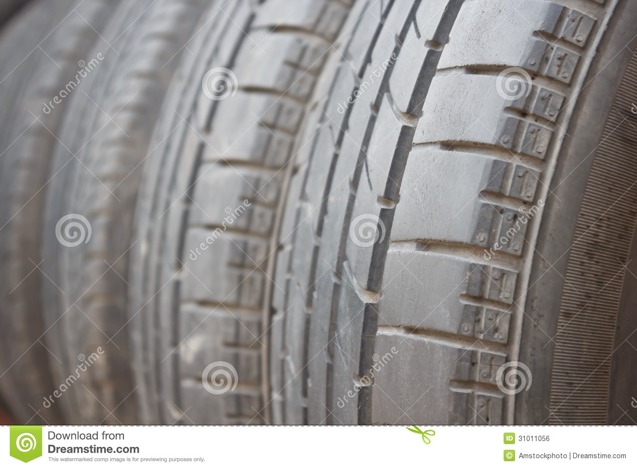 Old tire stock photo  Image of scrap, disposal, material