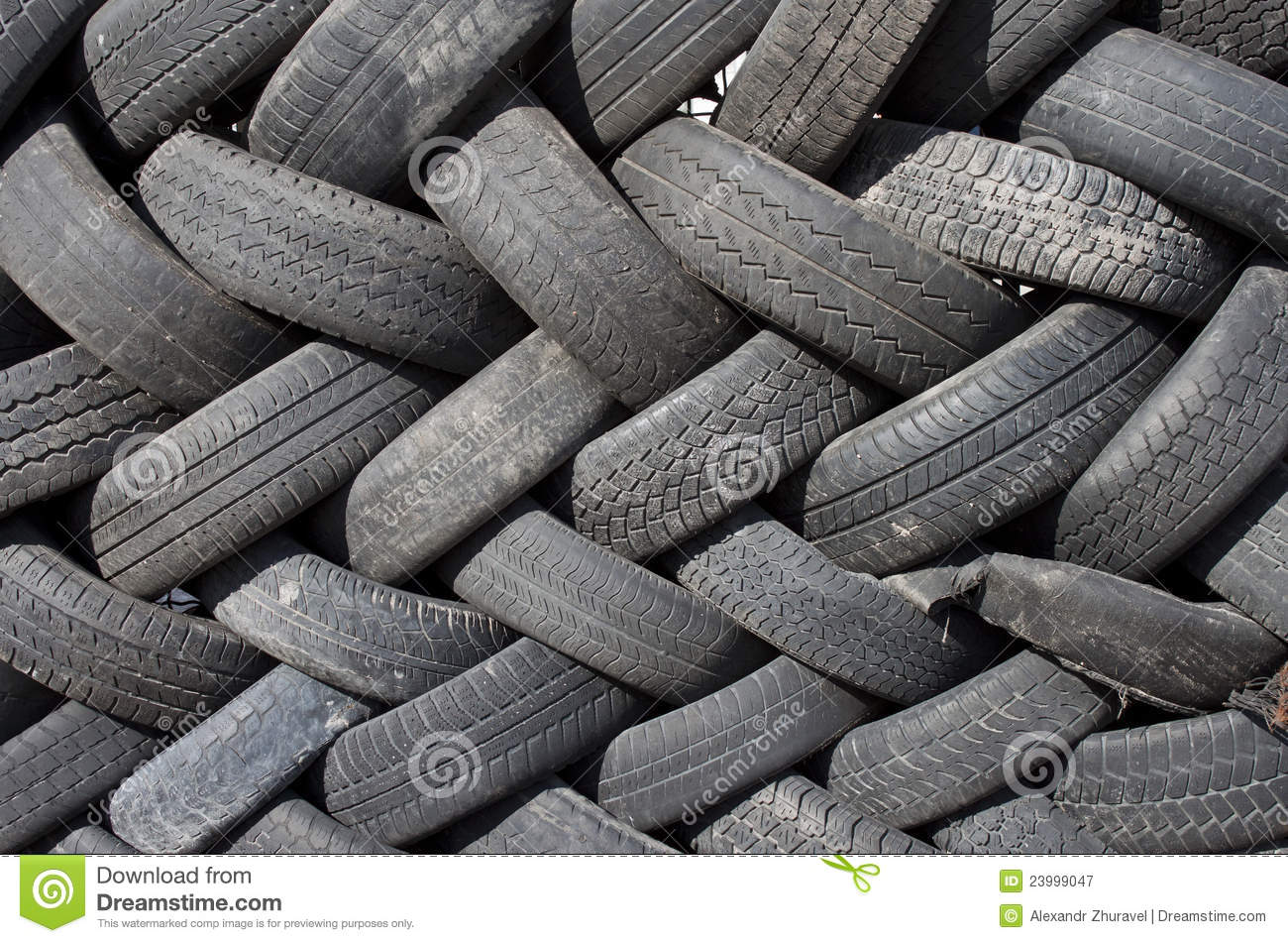 Old tires royalty free stock photography image 23999047 - What to make with old tires ...
