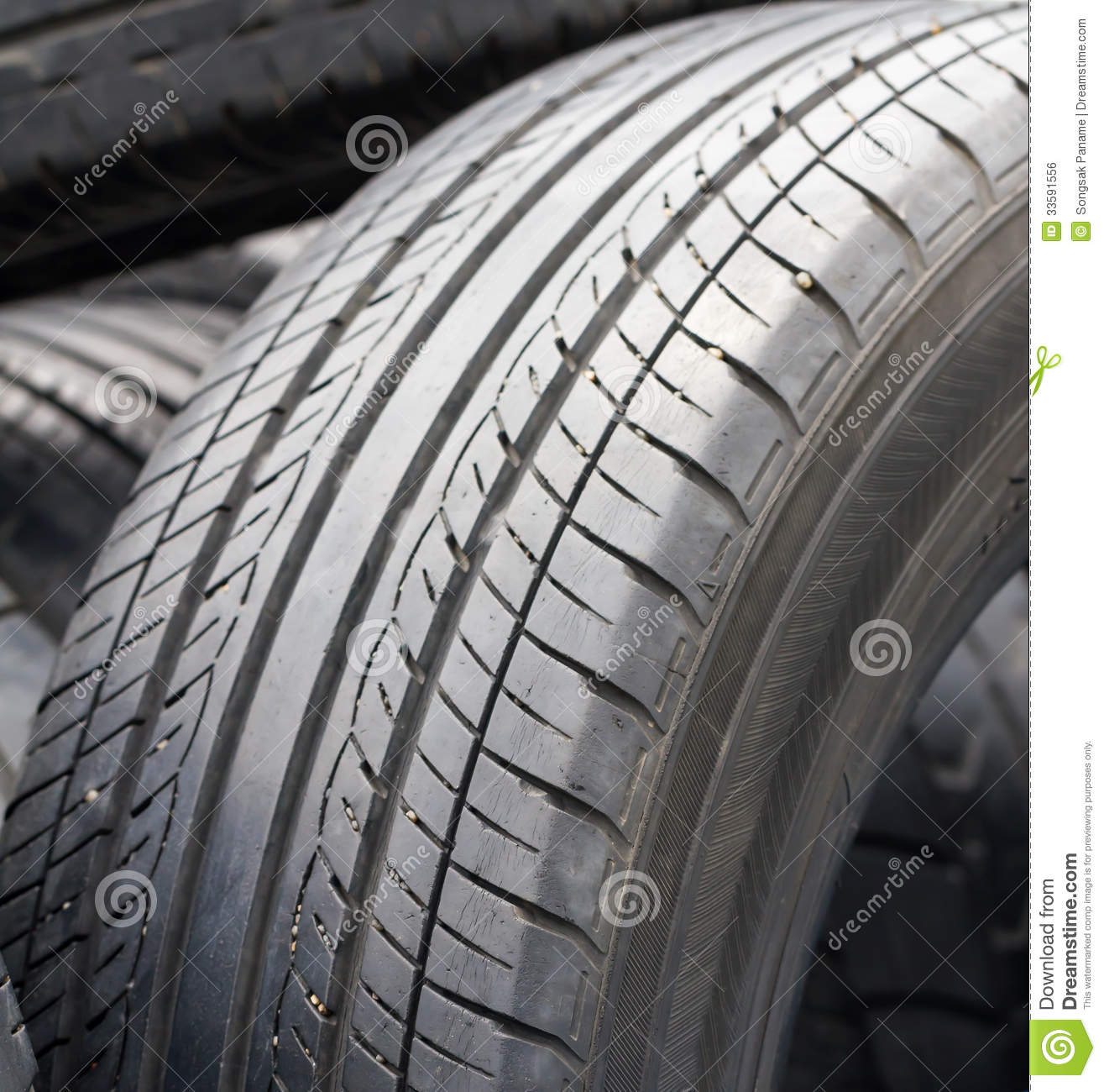 Old Tires Royalty Free Stock Image - Image: 33591556