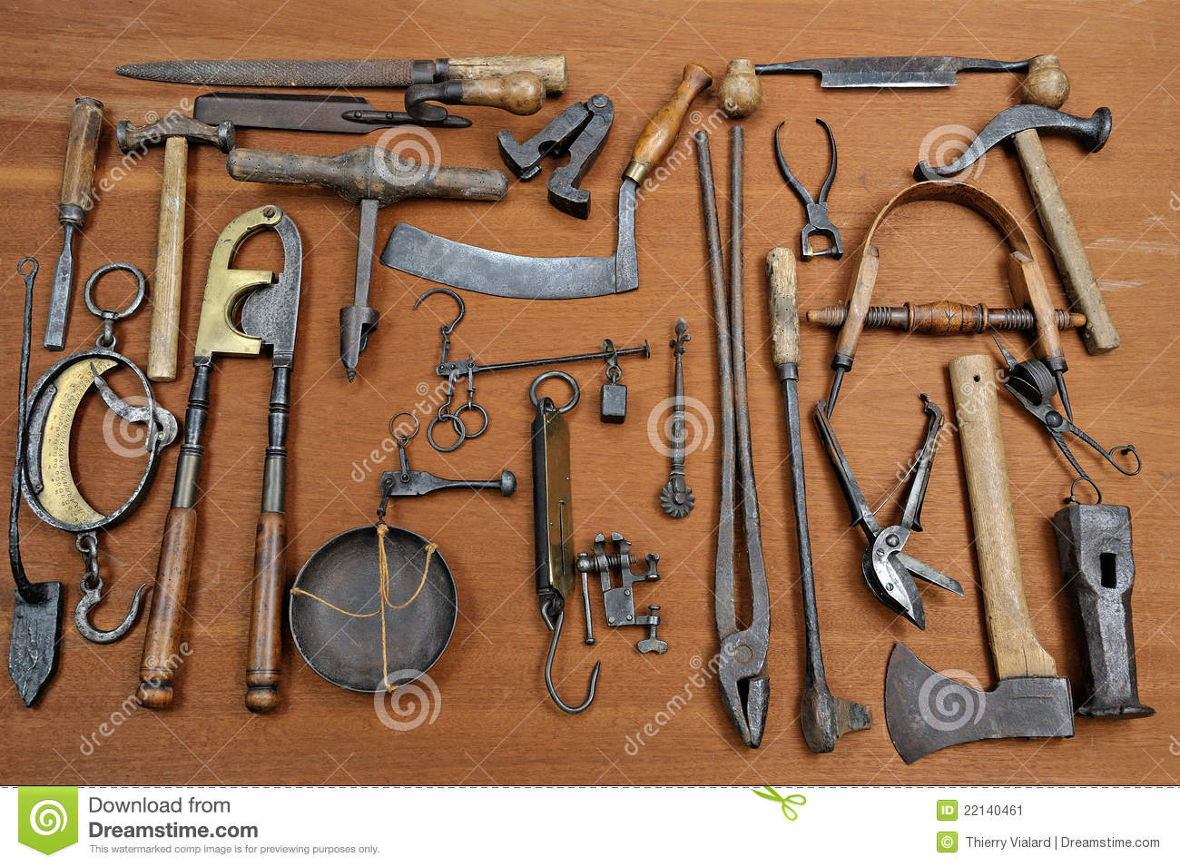 Old tools four