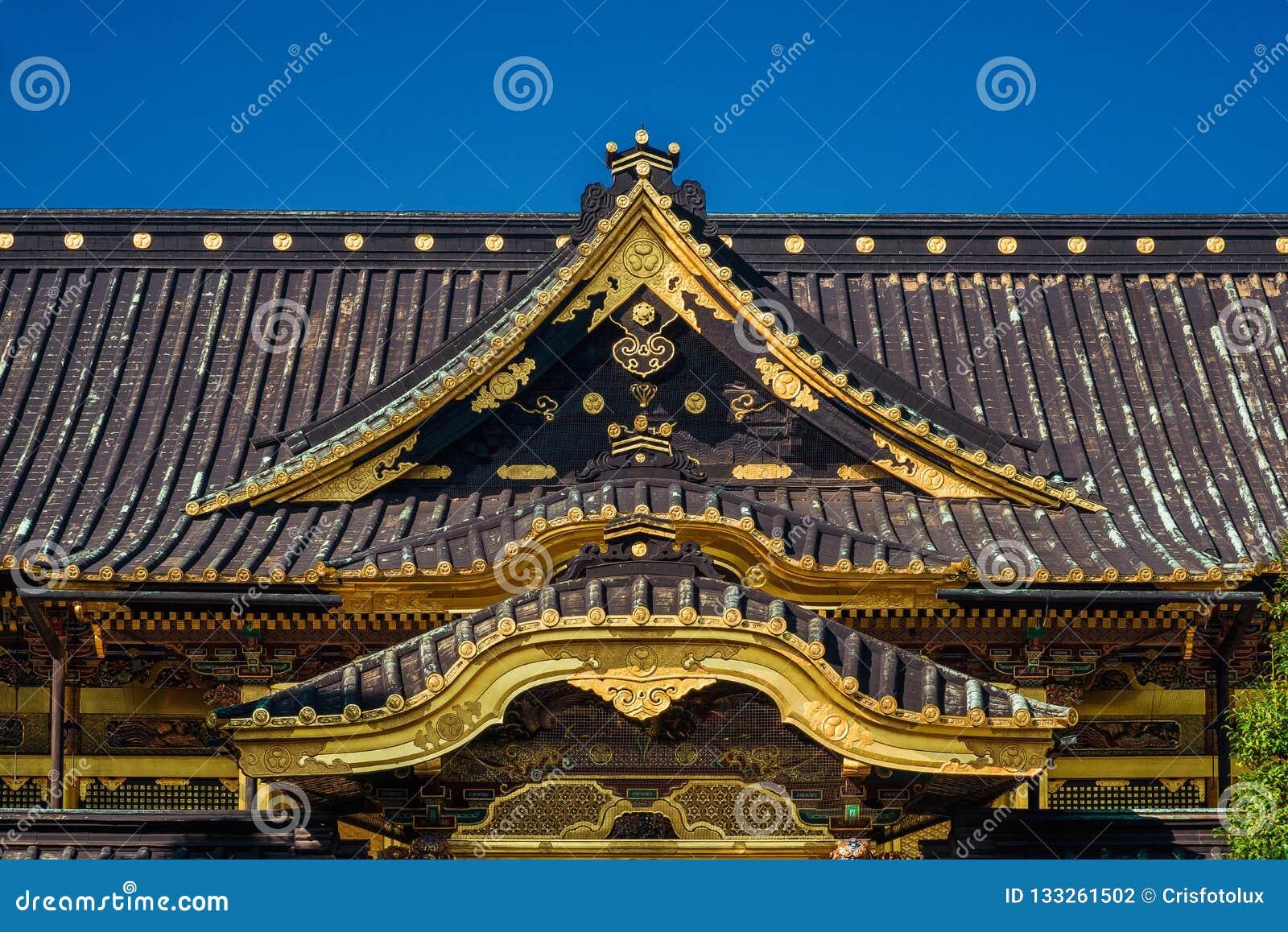 Tosho-gu Shinto shrine in Tokyo