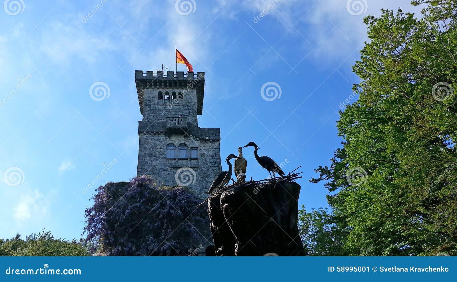 Old tower on Mount Akhun, Sochi landmark