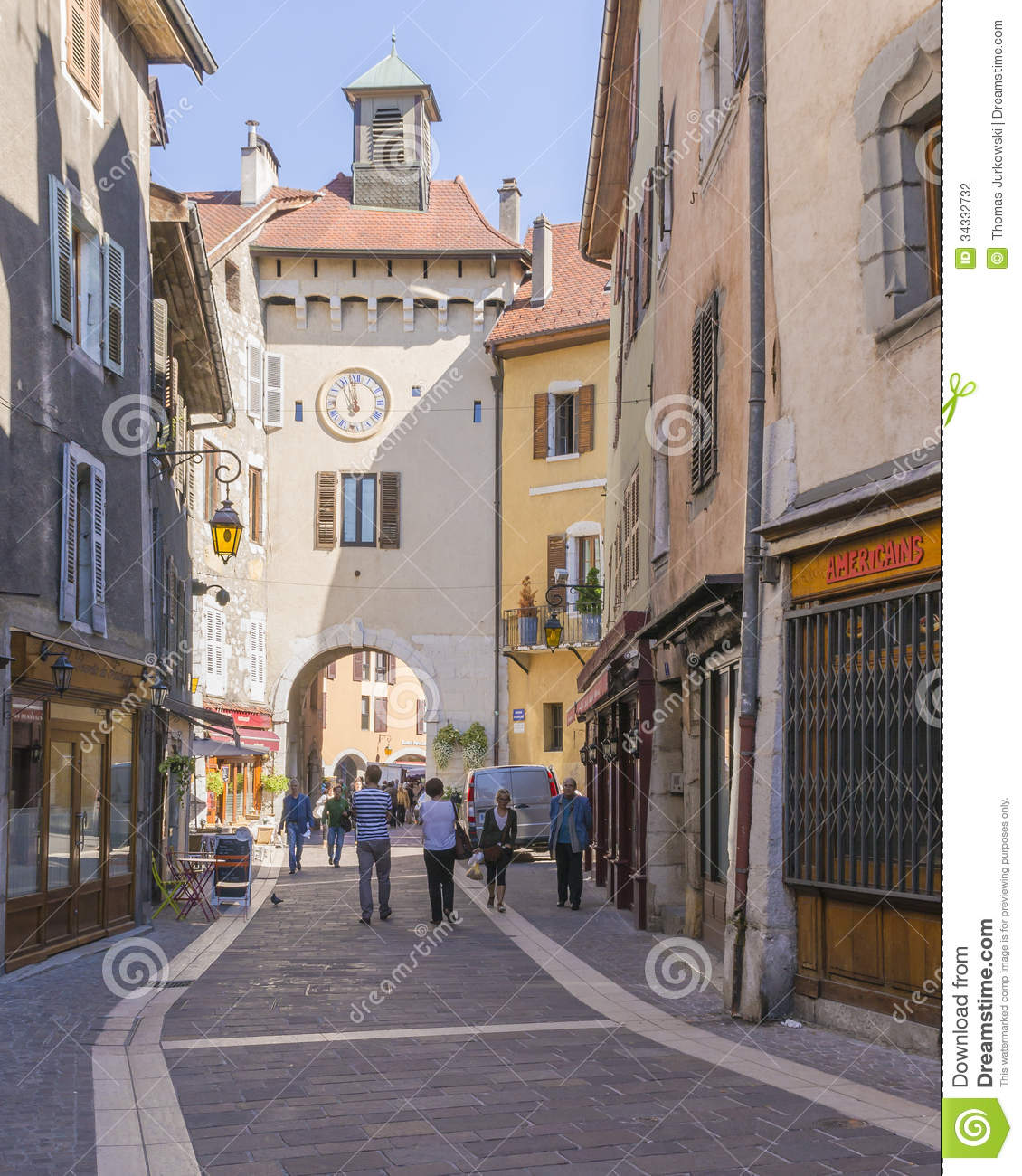 Old town annecy editorial photography image of france - Boutique free annecy ...