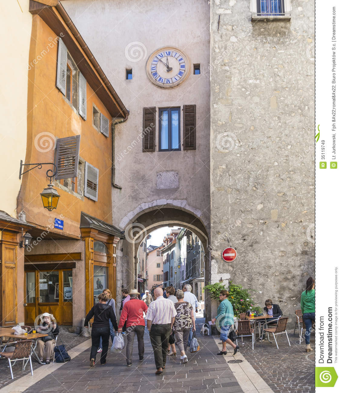 Old town annecy editorial stock image image 35119749 for Http wikipedia org wiki