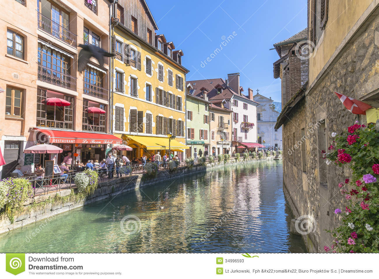 Old town annecy editorial stock photo image 34996593 - Boutique free annecy ...