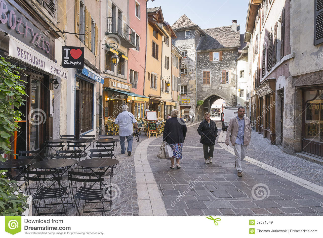 Old town annecy editorial stock image image 59571049 - Boutique free annecy ...