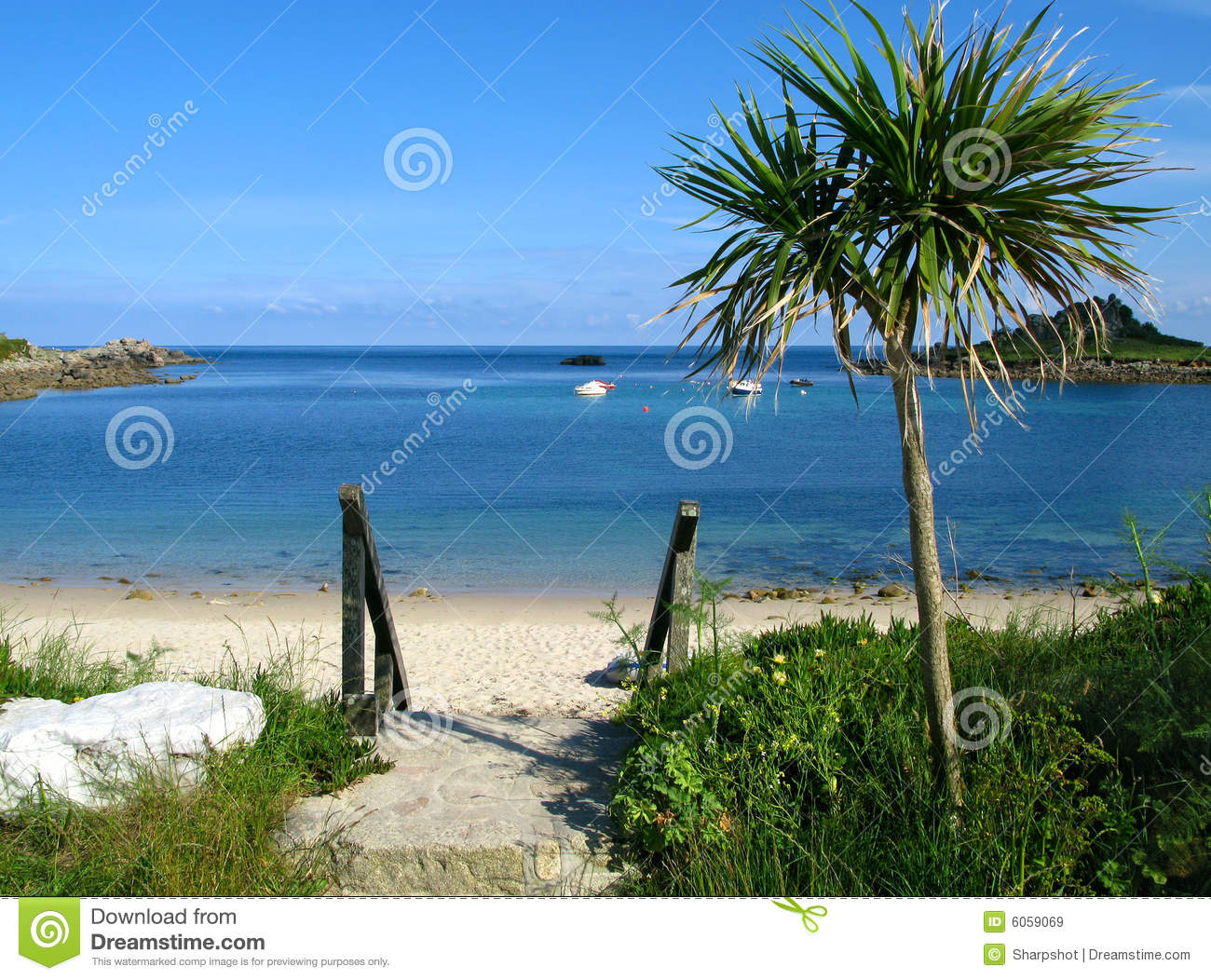 Download Old Town Beach, St. Mary's, Isles Of Scilly. Stock Image - Image of vacation, boats: 6059069