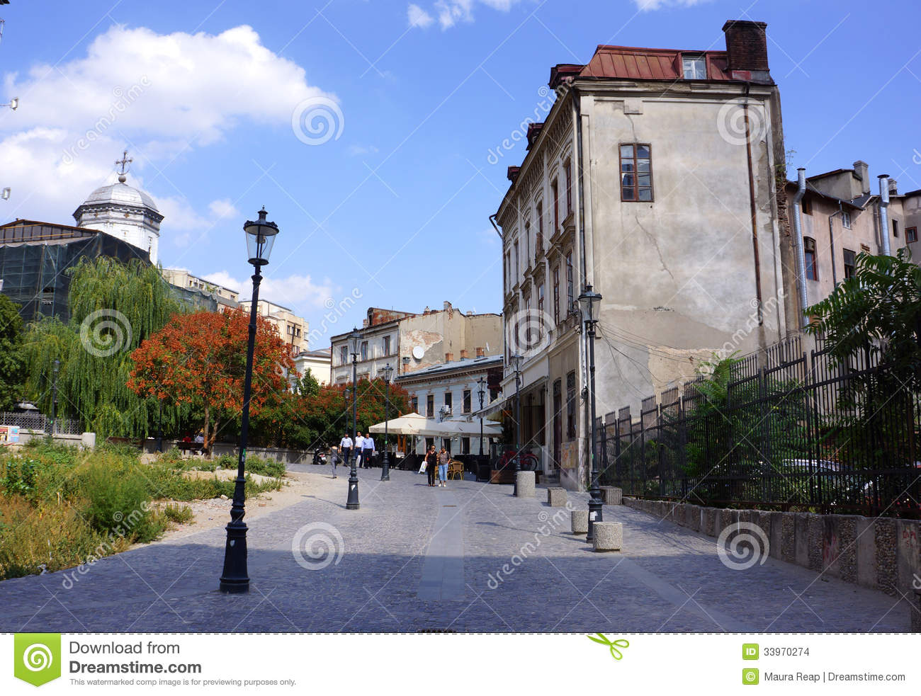 Bucharest Town Editorial Image Image Of Bucharest: Old Town, Bucharest Editorial Stock Image. Image Of Busy