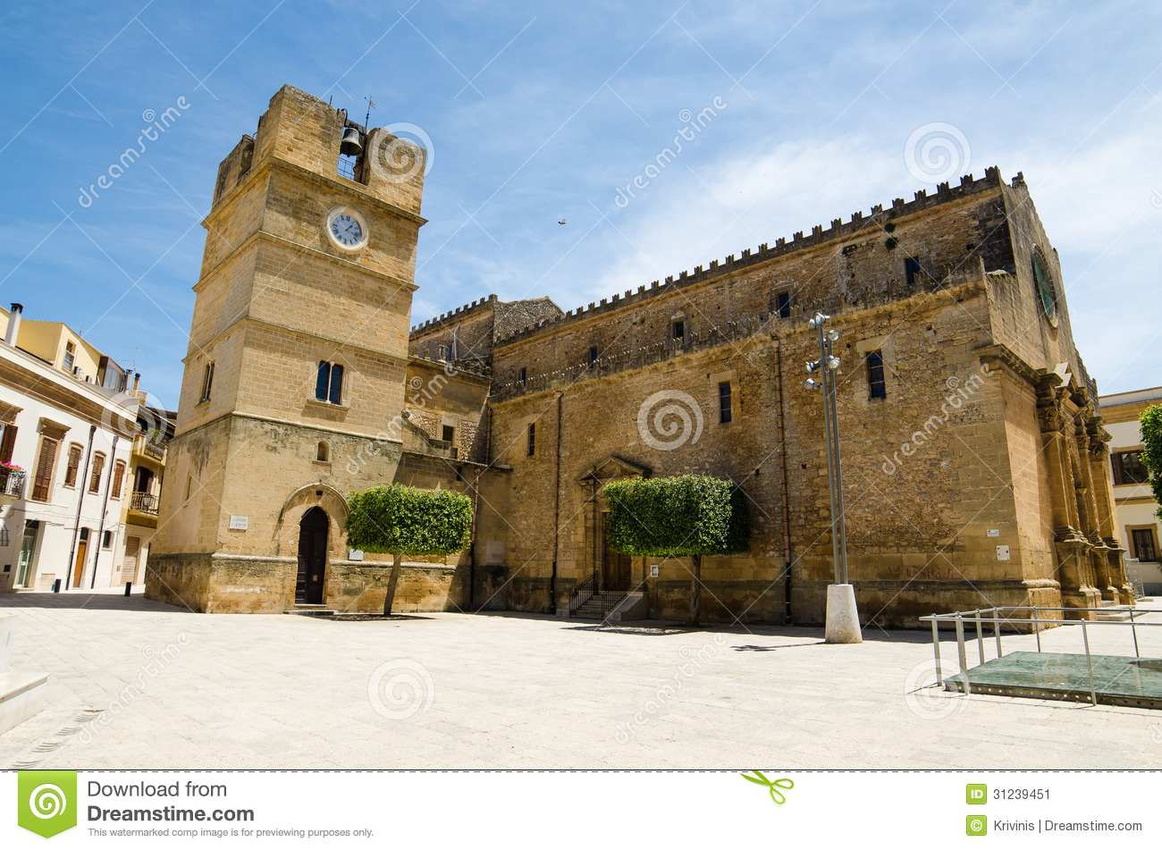 Castelvetrano Italy  City pictures : Old Town of Castelvetrano, Sicily Island, Italy.