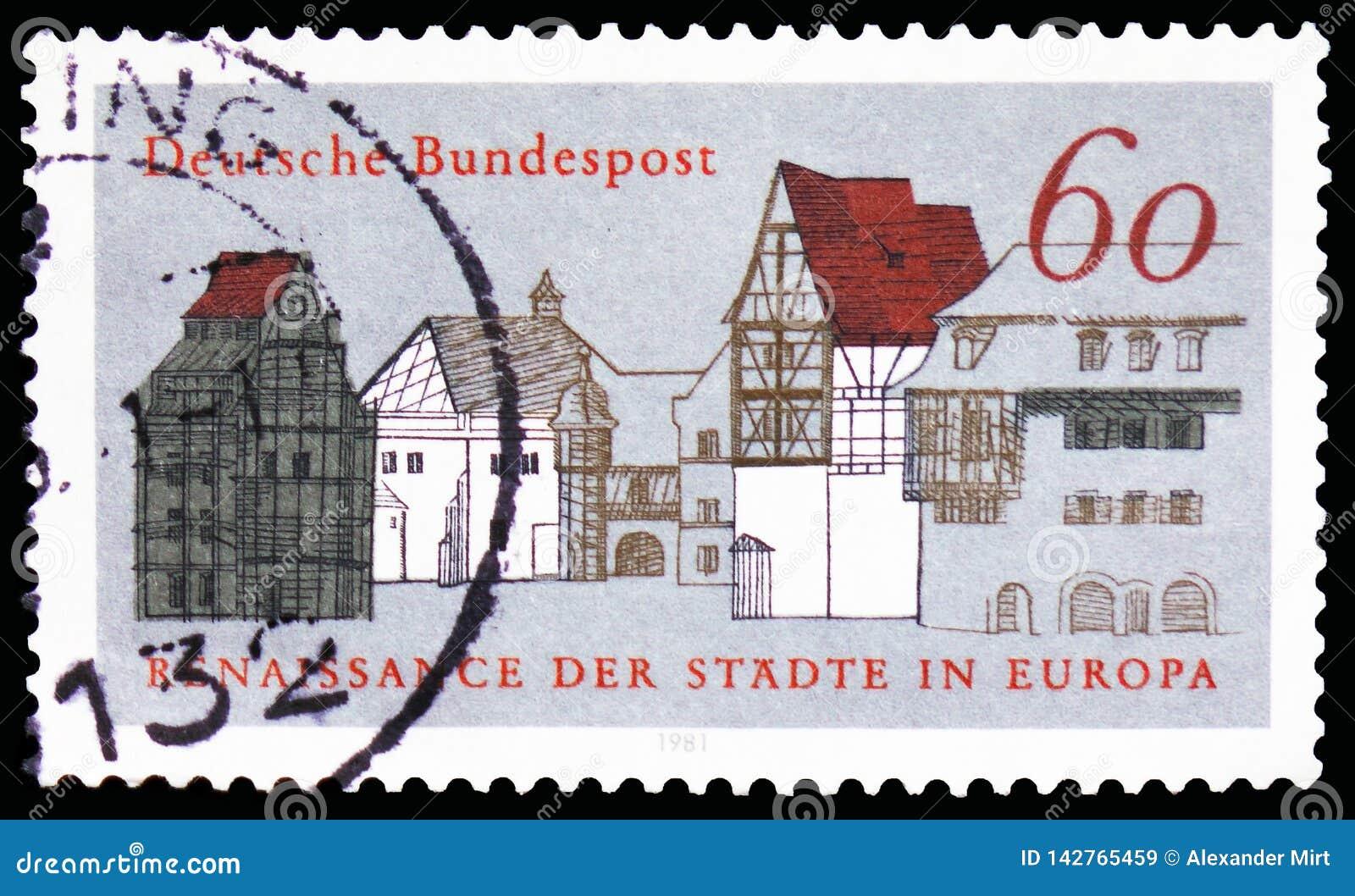 Old Town Houses, European Campaign for Urban Renaissance serie, circa 1981