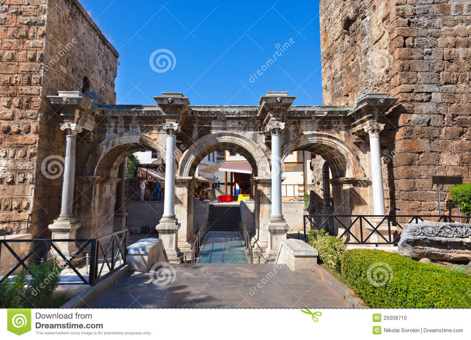 Old Town Kaleici In Antalya Turkey Stock Photo - Image: 25008710