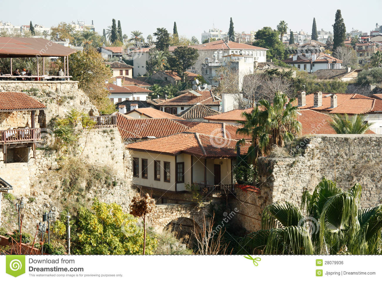 The Old Town Kaleici In Antalya, Turkey Editorial Photo ...