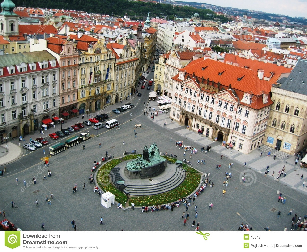Old Town Square stock photo. Image of czech, master, praha ...