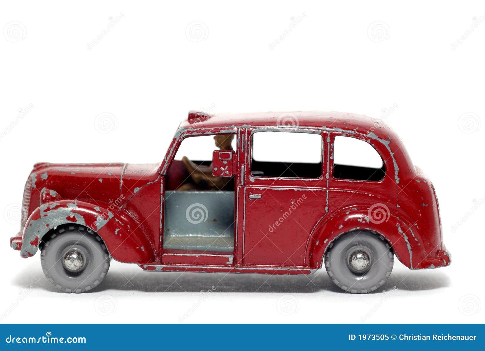 old toy car austin metropolitan taxi royalty free stock photo