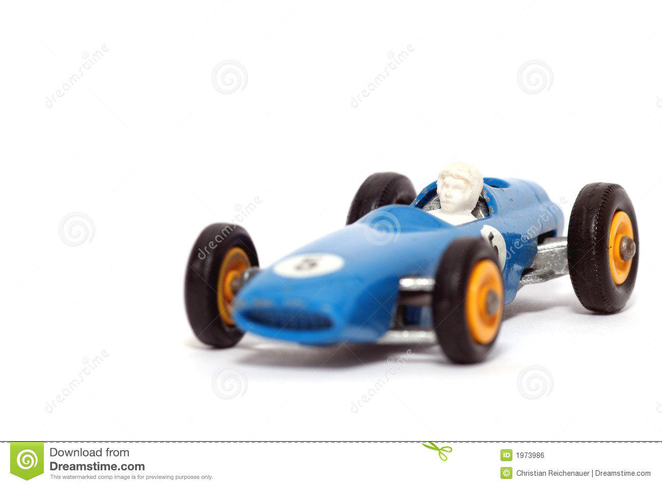 Old Toy Car B.R.M. Race Car Stock Photo - Image of child, playing ...