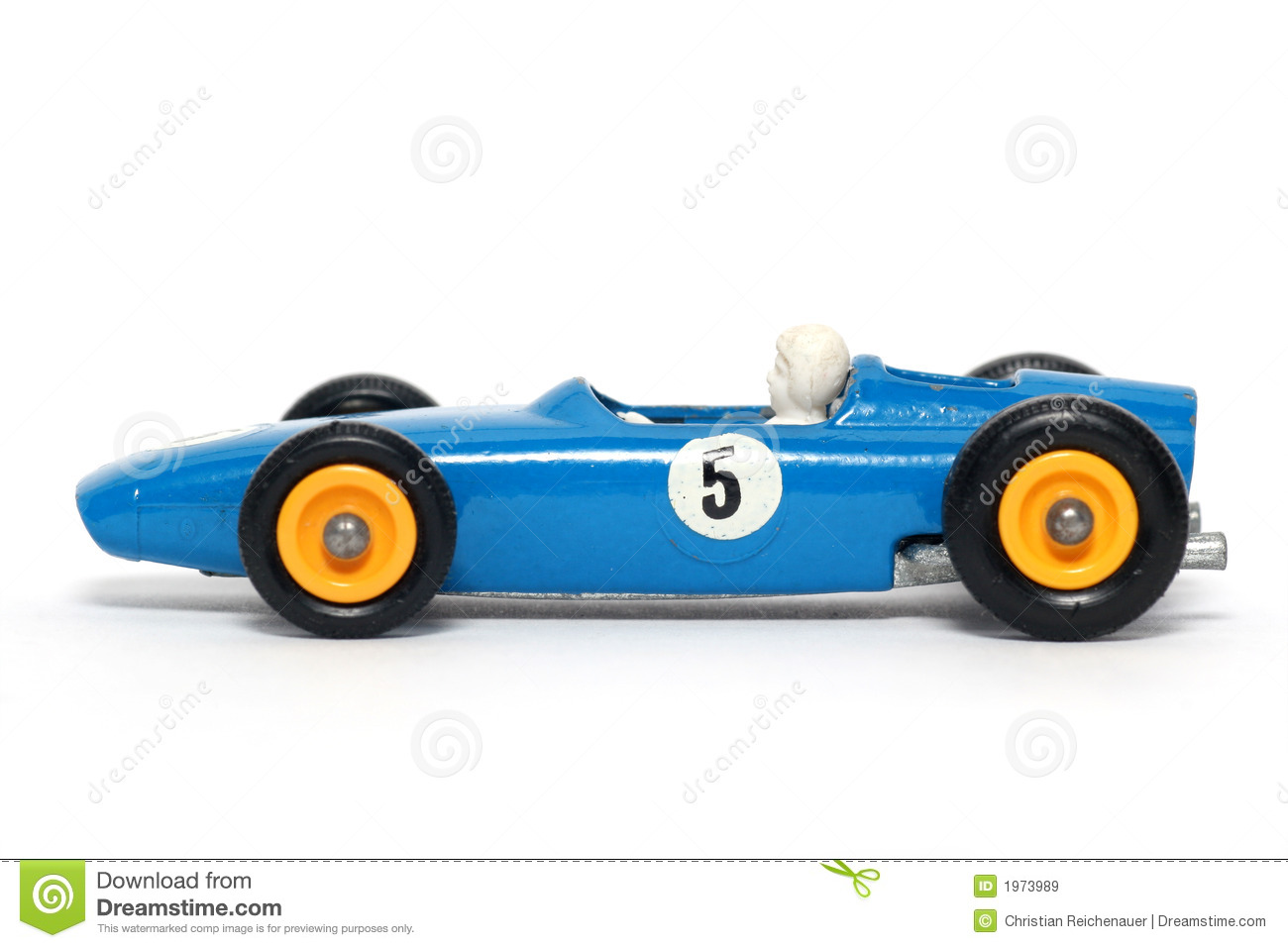 Old Toy Car B.R.M. Race Car #3 Royalty Free Stock Images - Image ...