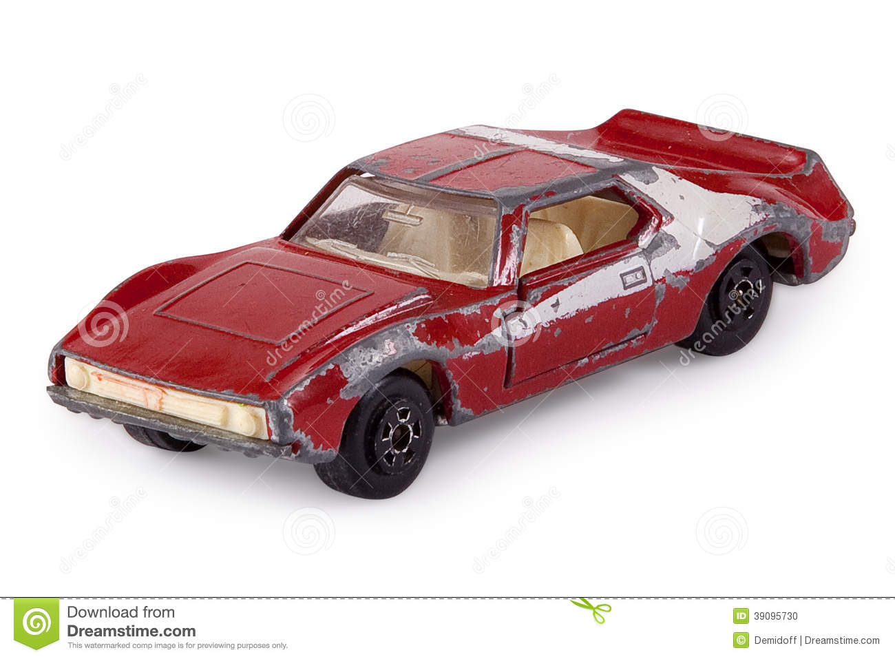 Old Small Metal Toy Cars