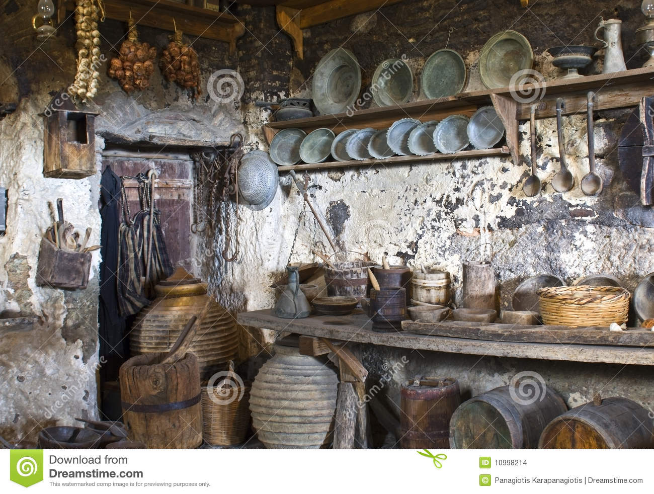 Old traditional kitchen