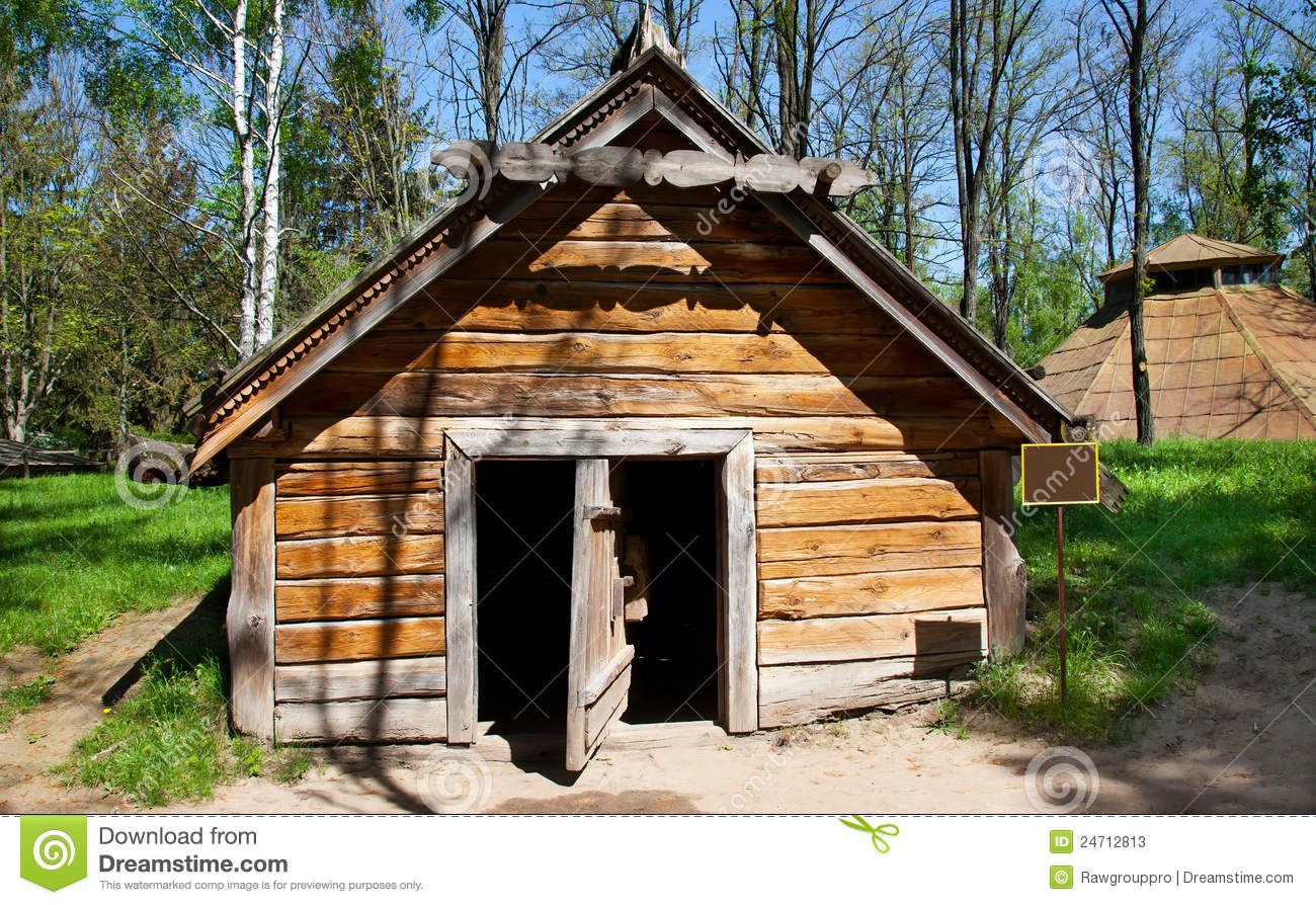 Old traditional style cottage stock photos image 24712813 for Old style cabins