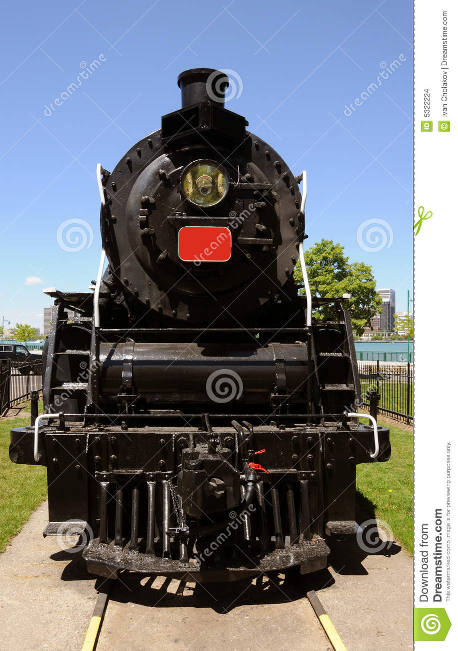 Old train engine stock photo. Image of obsolete, stean ...