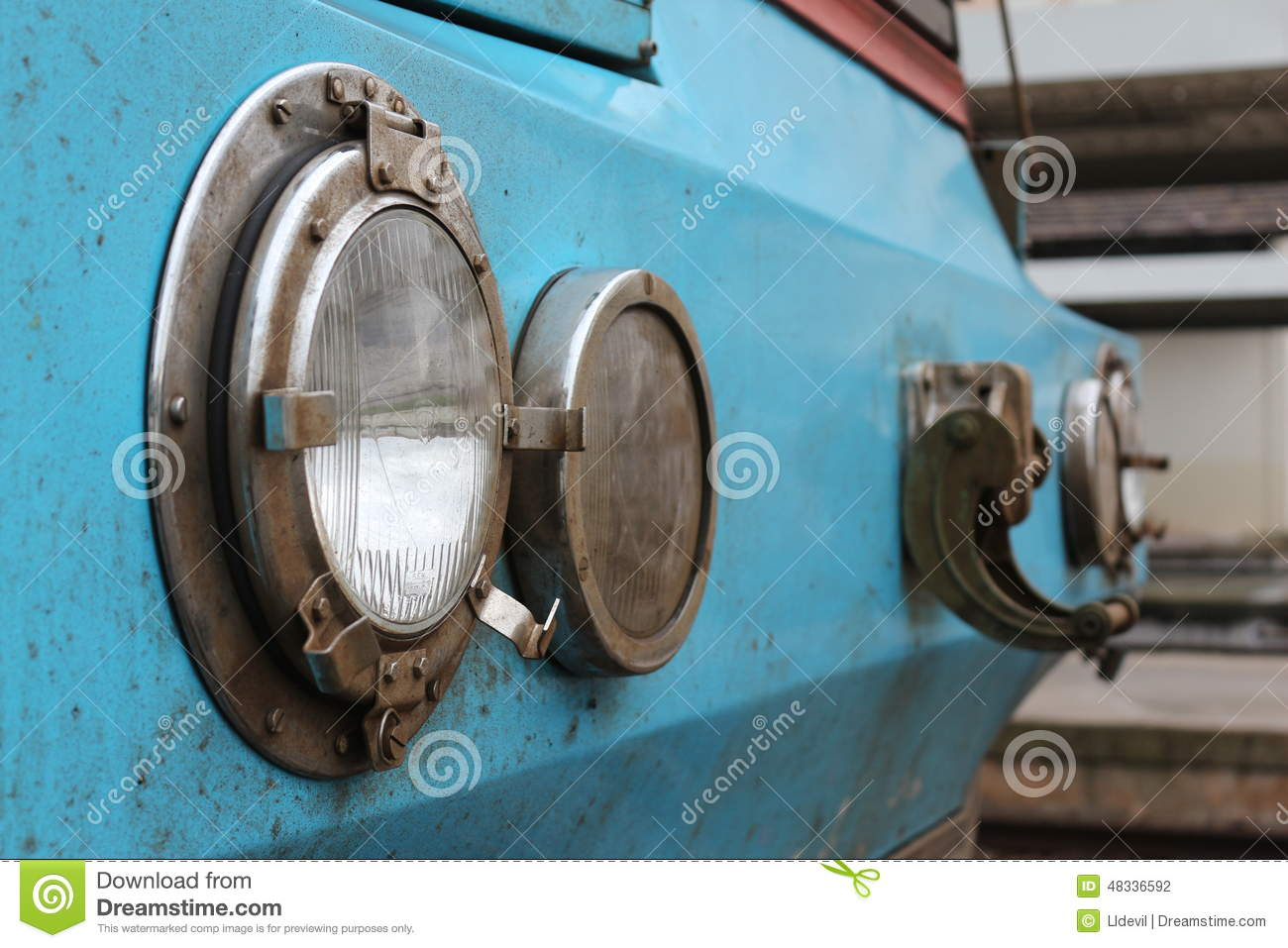 Old Train Headlight Editorial Photography Image Of Closeup 48336592 Head Lights For Model Trains Download
