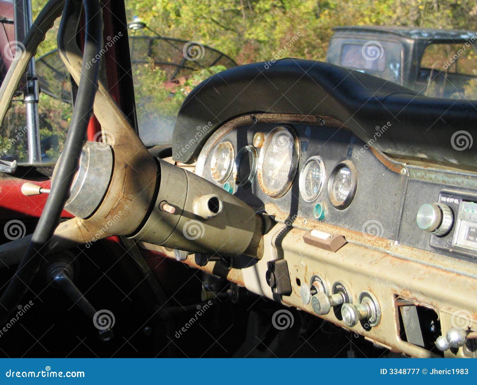 Old Truck Dashboard