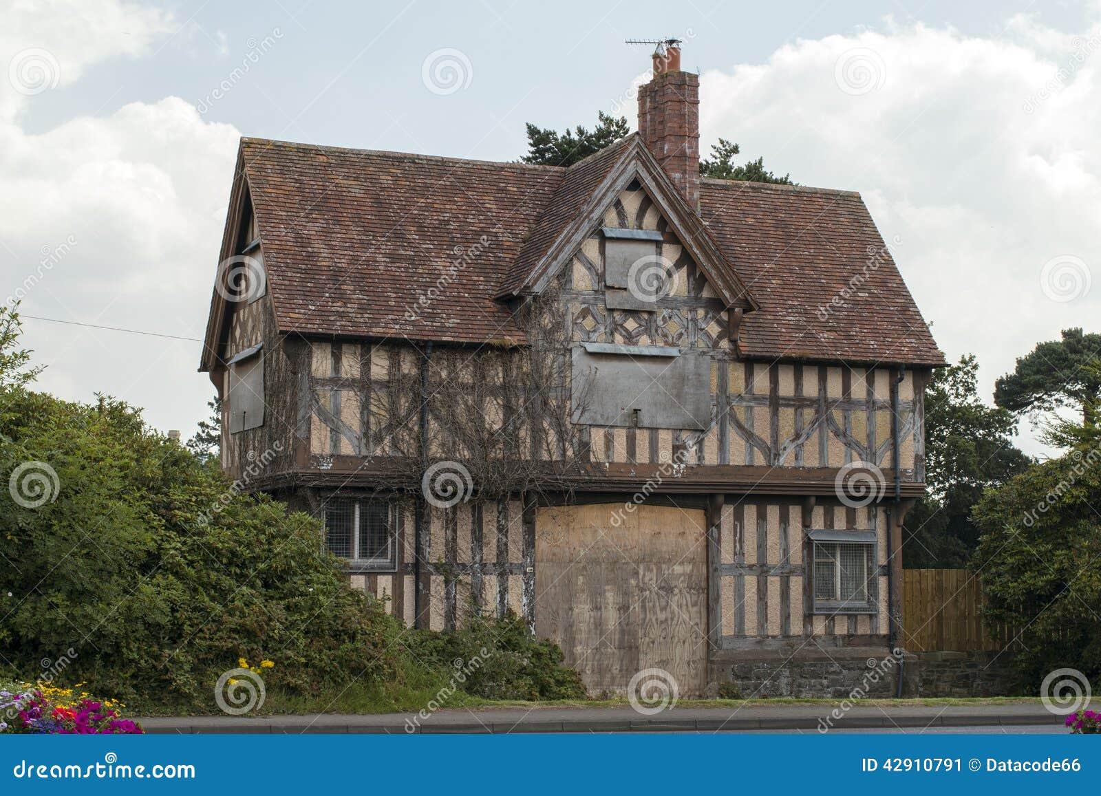Tudor Cottage House Plans Old Tudor House Stock Image Image Of Ruined Tudor Home