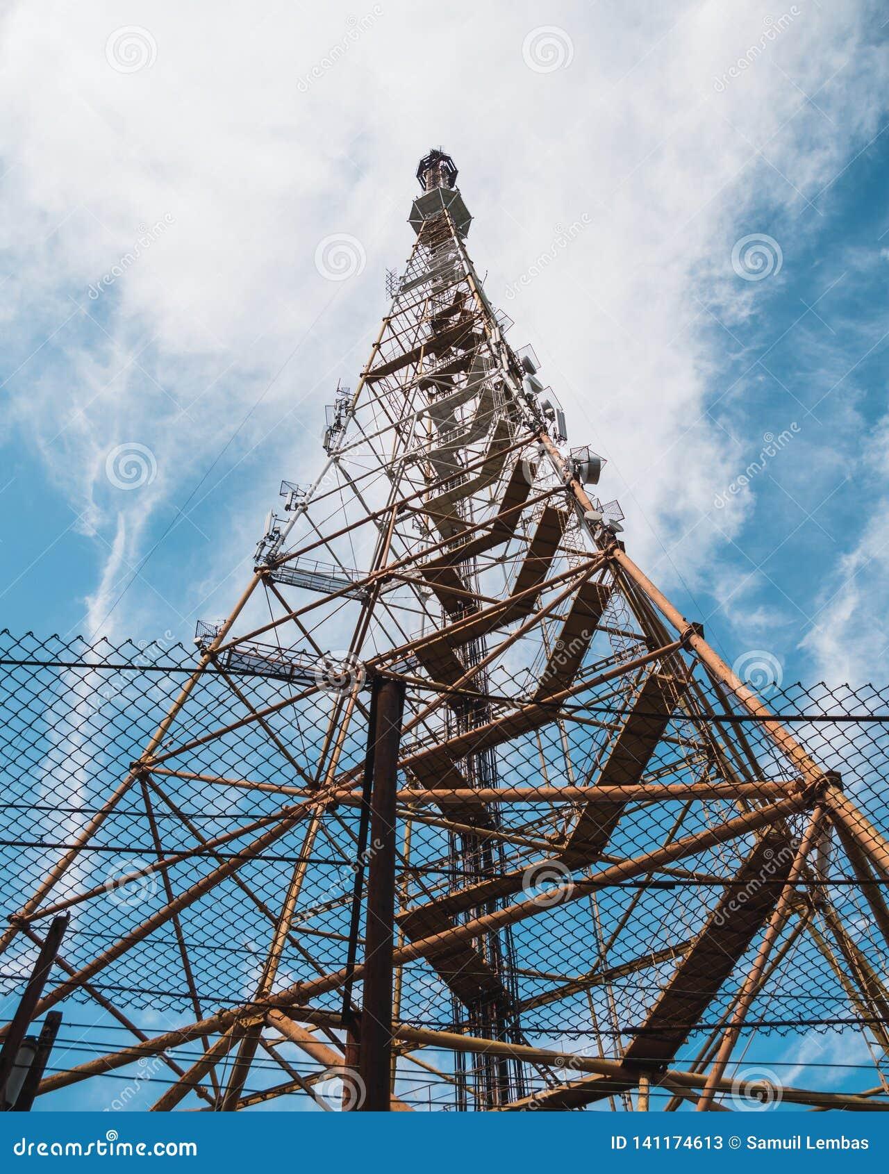 Old TV Radio Tower